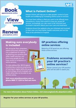 Patient Online Leaflet